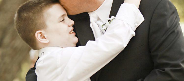 boy with autism spectrum disorder